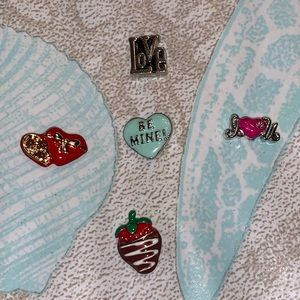 Origami Owl Valentine's Day charms